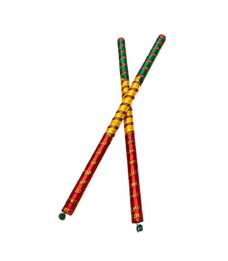 Dandiya Sticks for Navratri Garba - 1 pair