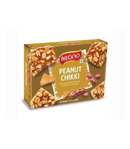 Bikano Peanut Chikki - 400g