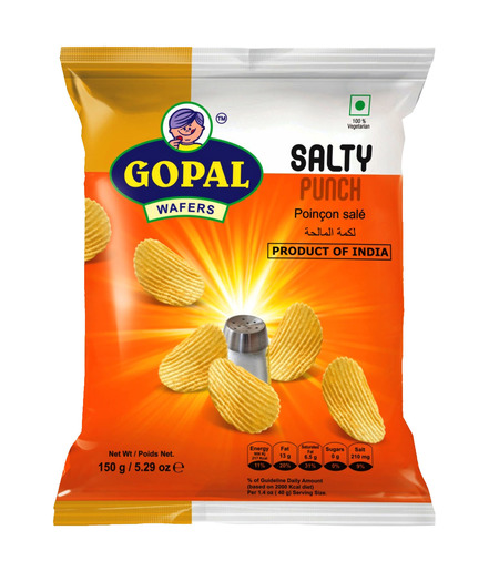 Gopal Wafers Salty Punch - 150g (Buy 1 get 1 free)