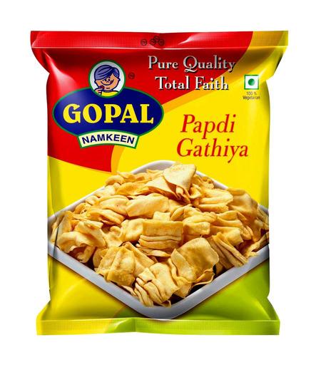 Gopal Namkeen Papdi Gathiya - 75g (Buy 1 get 1 free)