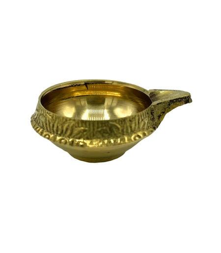 Brass diya - 1pc