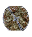 Traditional Roti Box - Bread Cover - Beige and Maroon