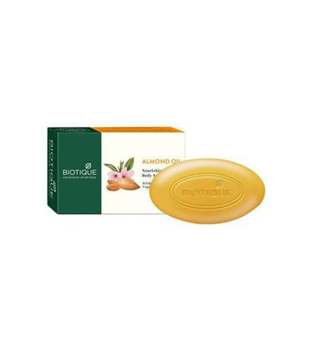 BIOTIQUE Almond Oil Soap - 75g